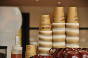 Bordeaux Bakery Coffee Cups