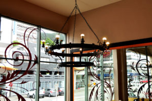 Bordeaux Bakery Chandelier